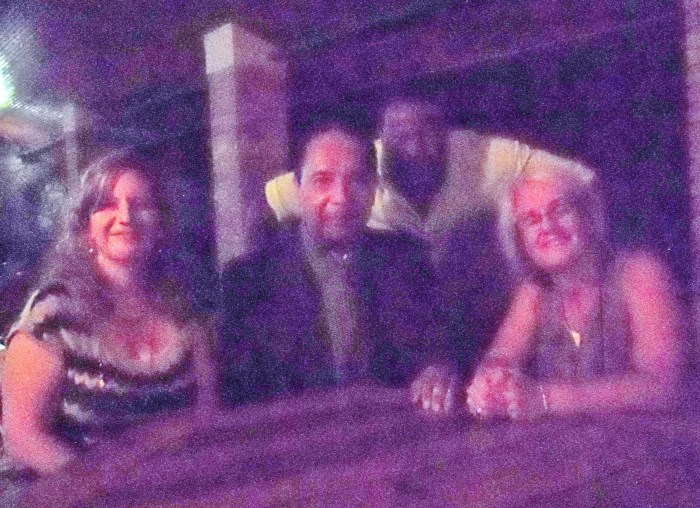 Kate, Jean-Claude Duvalier, Fito, Kathy (March 2011)