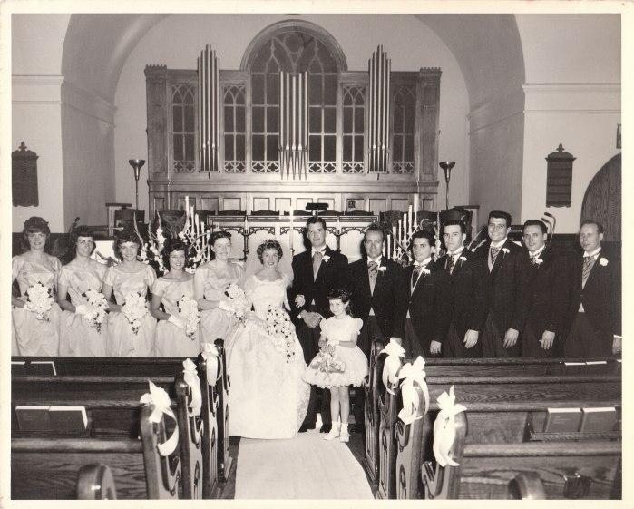 wedding 1961