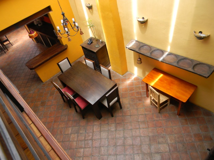 We've rented a temporary, colonial home in the center of downtown Cuenca--el Centro.