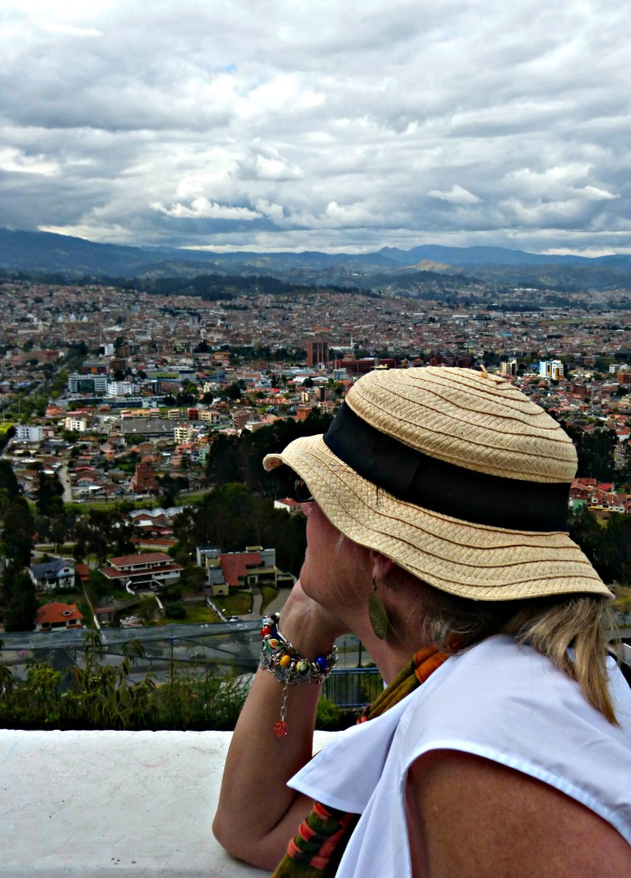 We got a great view of Cuenca, stretched out below.