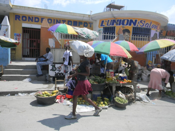 I took this photo while we were living in Port-au-Prince.  (All other images in this post are compliments of Sara.)