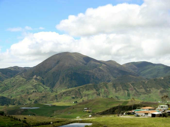 The 2 hour drive from Cuenca to Ingapirca is worth it, if for the scenery alone.  Stunning Andean countryside!