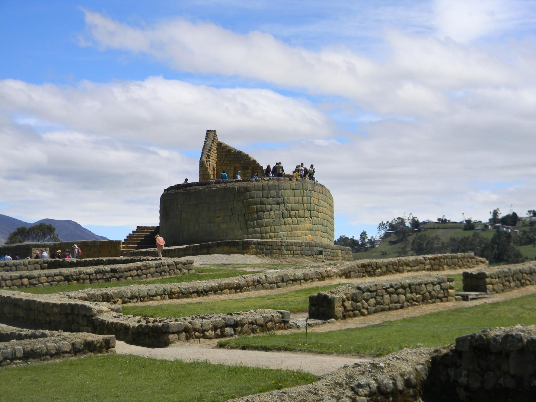An initial view of Ingapirca.