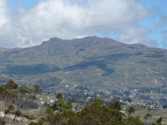 Andes near Ingapirca, Ecuador