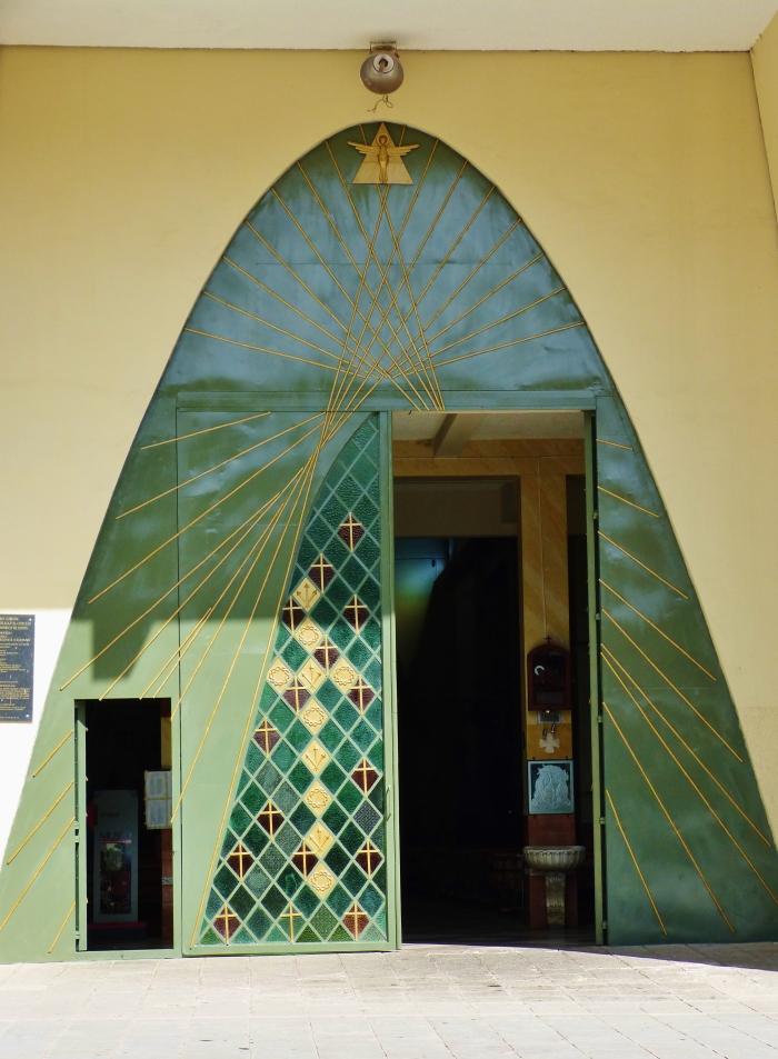 Basilica doors in Girón--(sara's image)