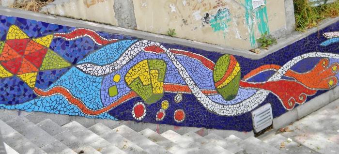 Mosaic mural--