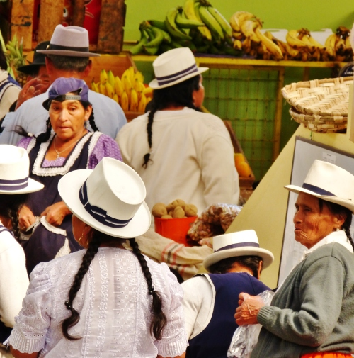 At the Girón Mercado--(Sara's image)
