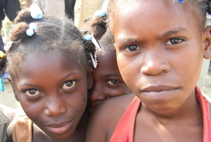 Haitian children, March 2010--