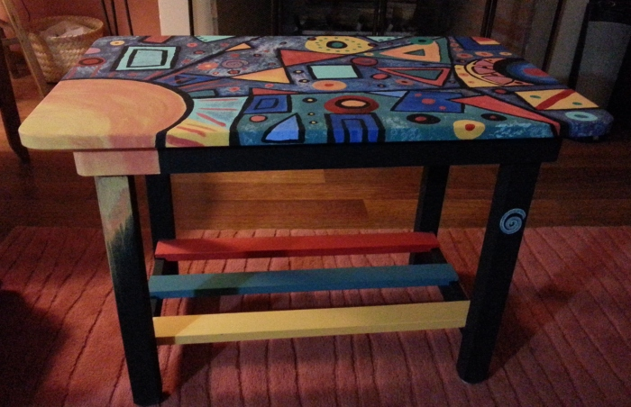 Rita's completed table!