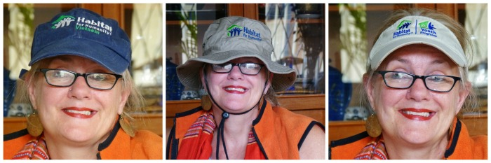 Habitat for Humanity hats--