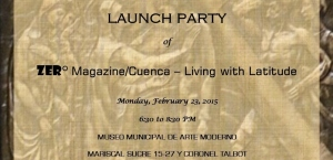 Launch Party Invitation zero magazine