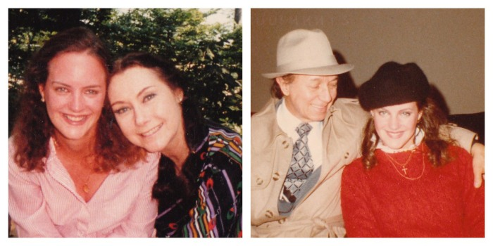With my Godparents when I was a kid--